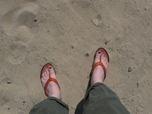 Feet in the sand - Copy